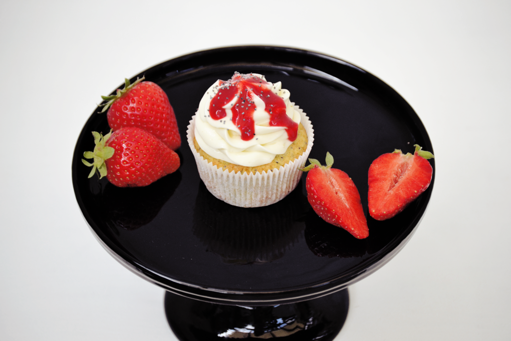 Mohn Zitronen Cupcakes
