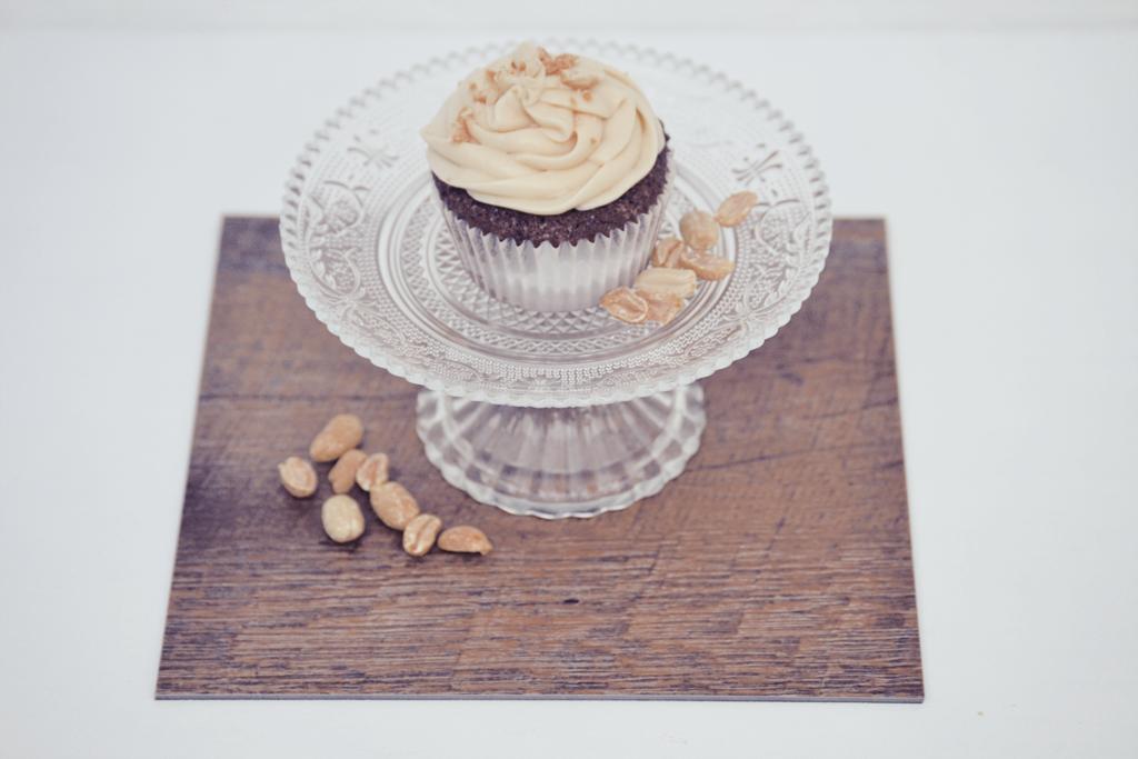 SchokoladenErdnussKaramellCupcakes