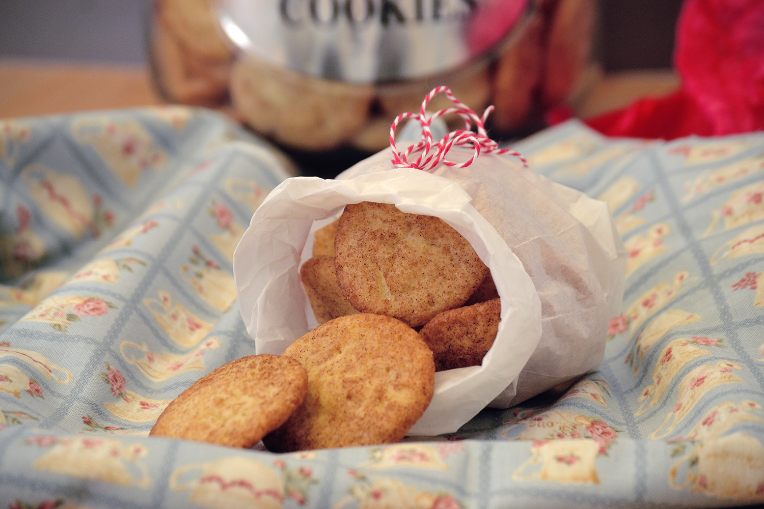 Cookie Time in November {Snickerdoodles} - Saras Cupcakery