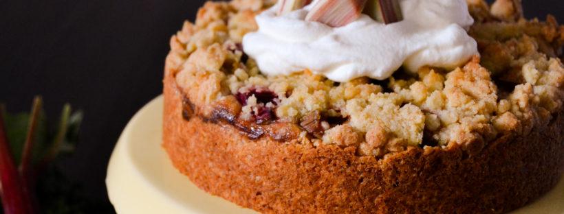 Rhababer-Marzipan Kuchen