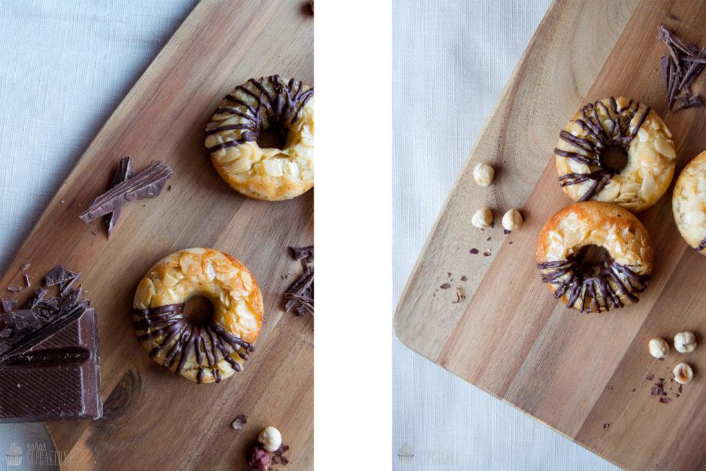 Nussecken Donuts