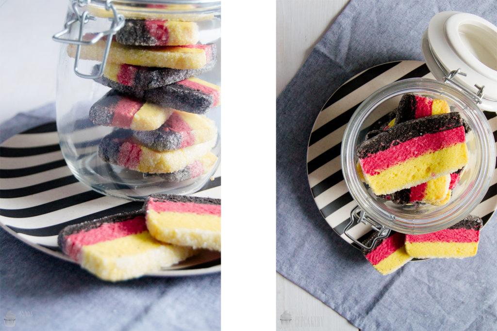 Flaggen-Kekse