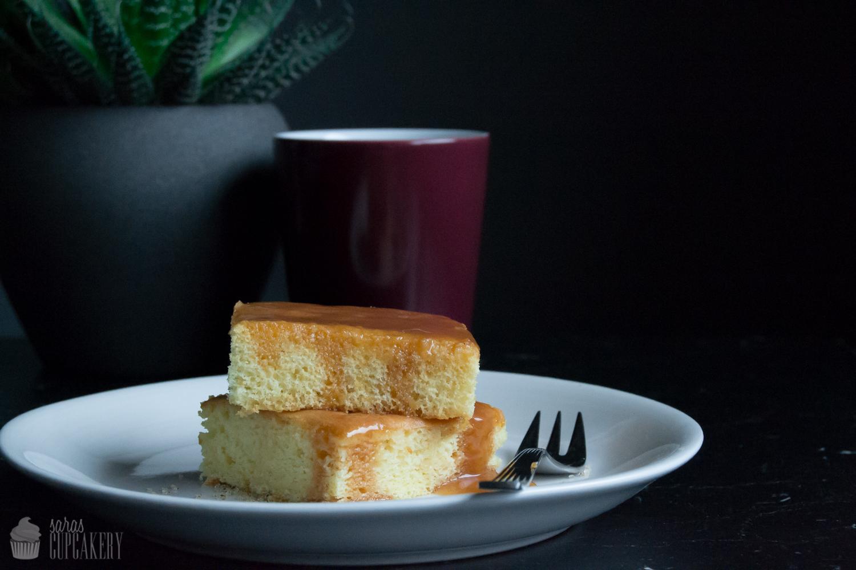 Mein Tres Leches Mit Karamell Dreierlei Milch Kuchen Saras