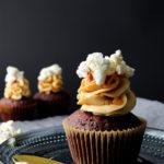 DoubleChocolateCaramelCupcakes