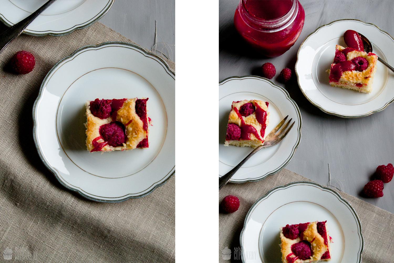 ein sommerkuchen himbeer kokos kuchen mit joghurt saras cupcakery. Black Bedroom Furniture Sets. Home Design Ideas