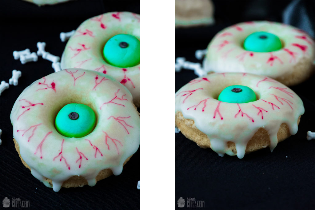 Augapfel-Donuts