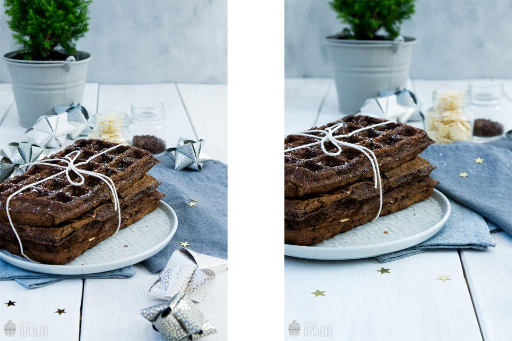 Rezept Schokoladen Waffeln