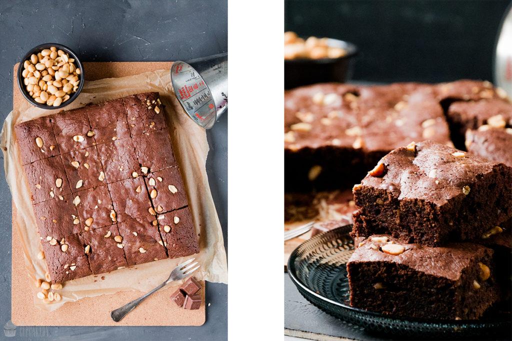 Erdnuss-Brownies