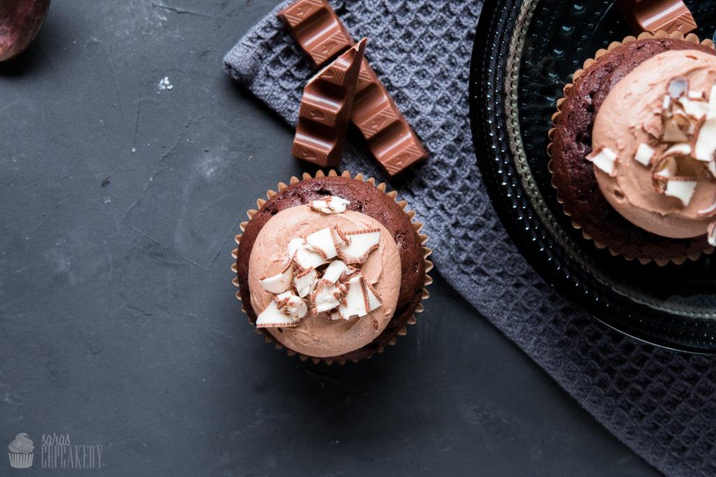 Kinderschokoladen Cupcake