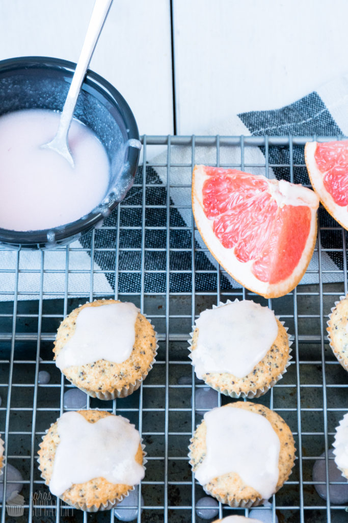 Mohn Grapefruit Muffins