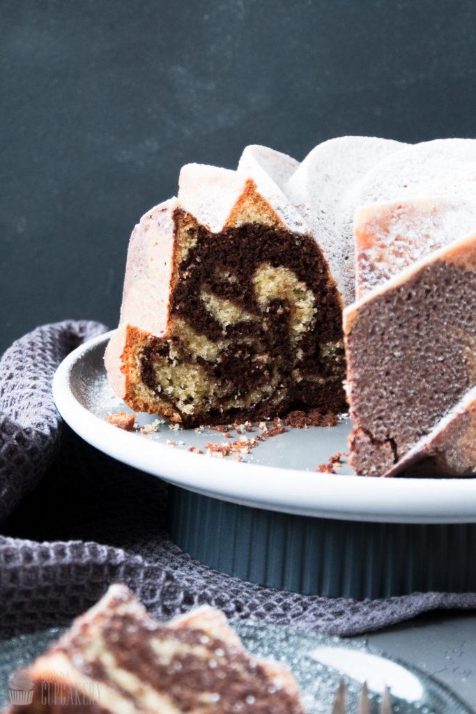 Marmorkuchen mit Nutella