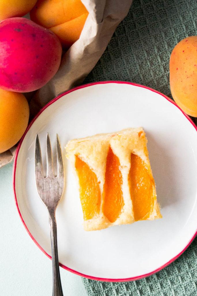 Aprikosen-Sandkuchen