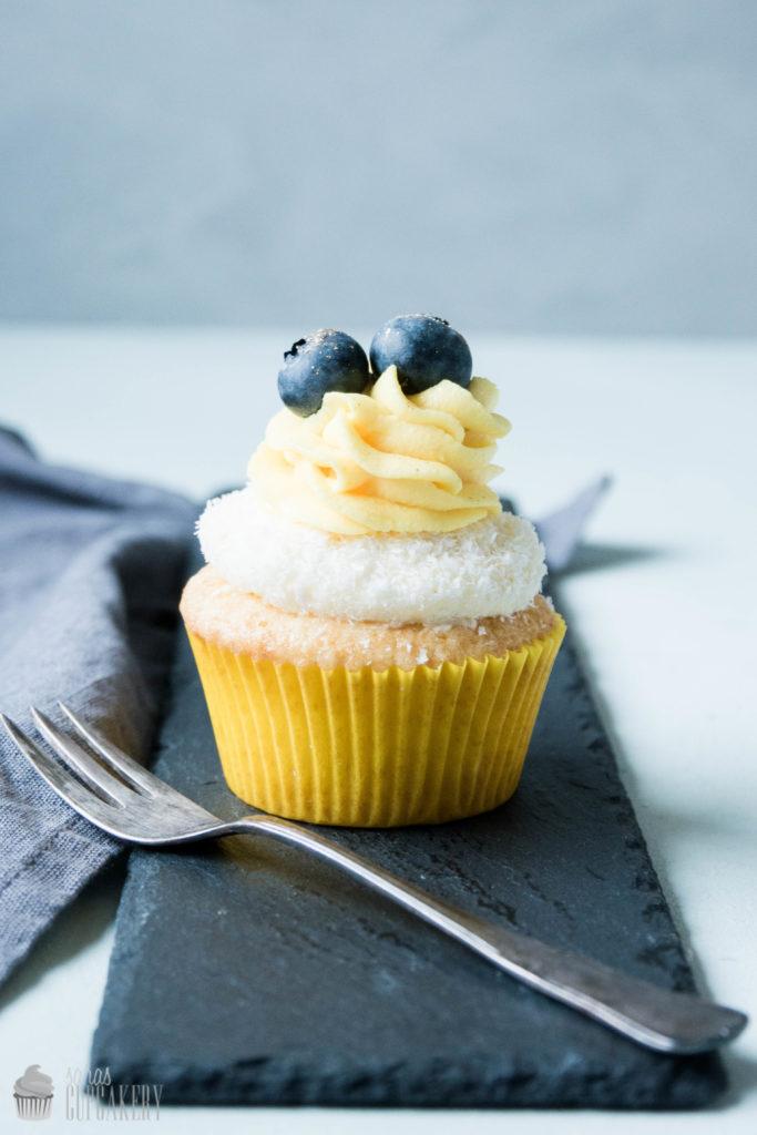 Zitronen Kokos Cupcakes