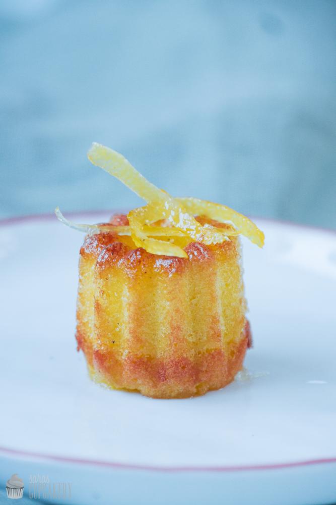 Mini-Zitronenkuchen mit Sirup