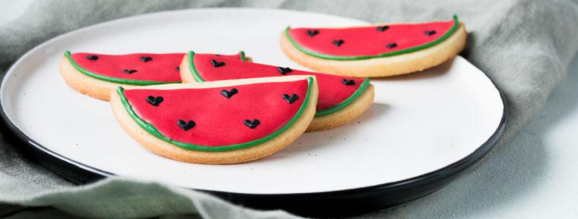 Wassermelonen Kekse