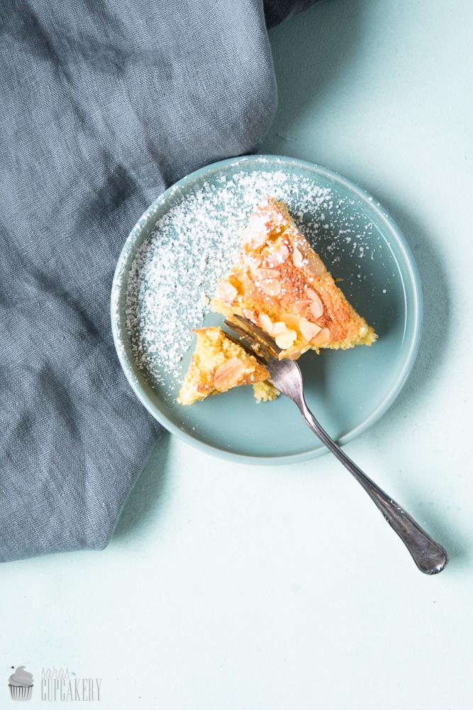 Zitronen Mandel Kuchen