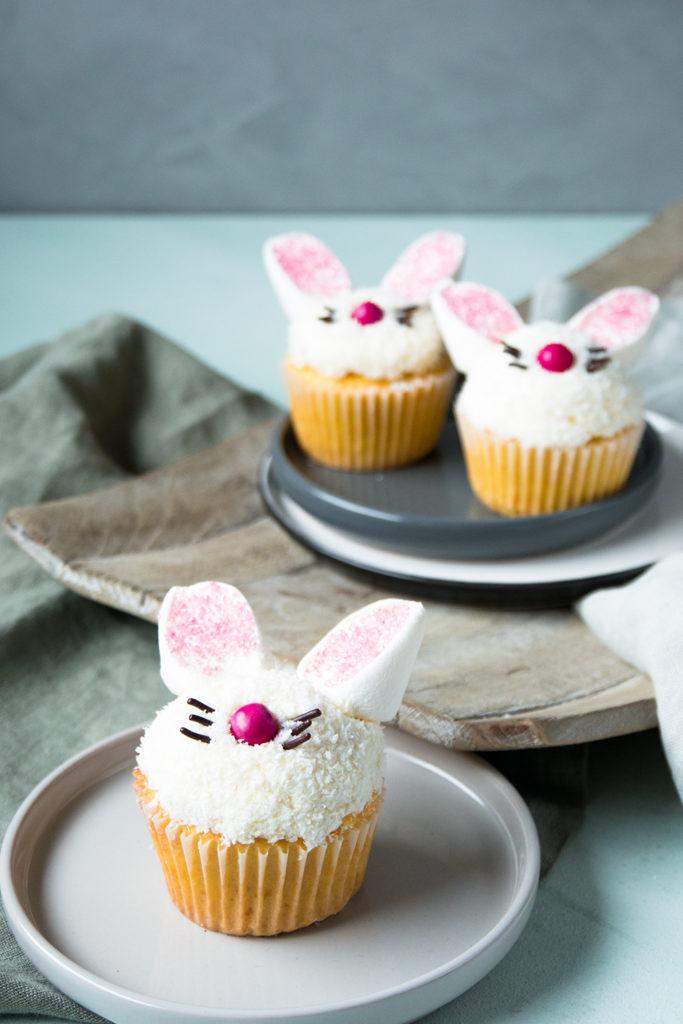 Osterhasen Cupcakes