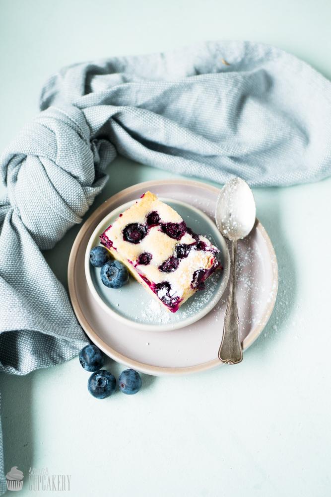 Sandkuchen Mit Blaubeeren