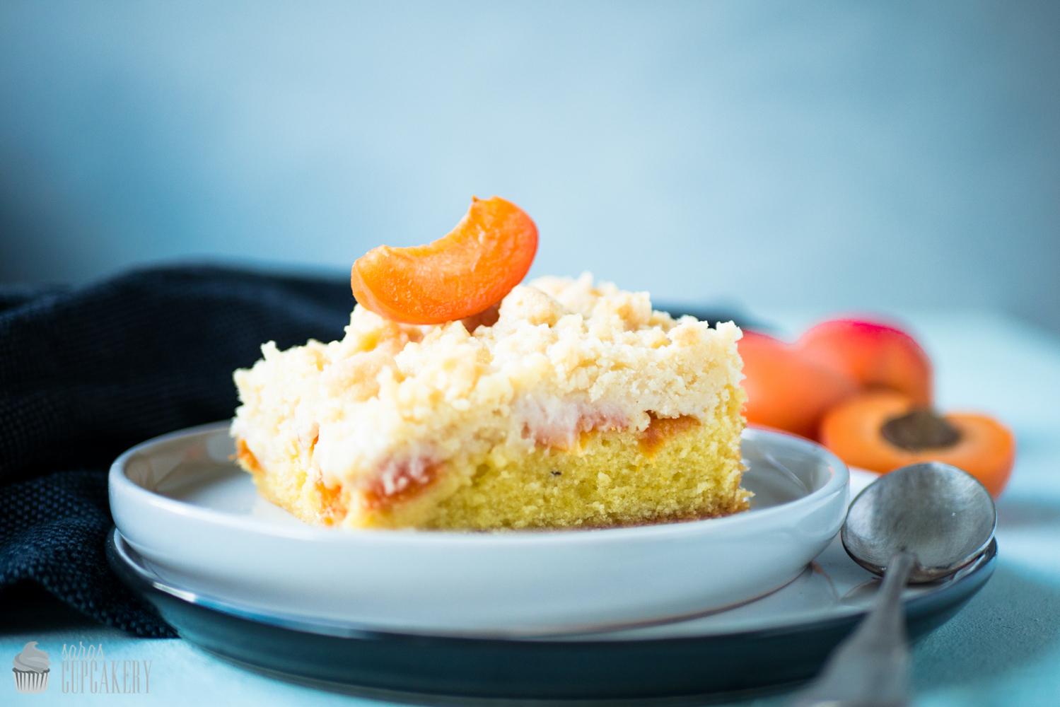 Streuselkuchen Mit Aprikosen