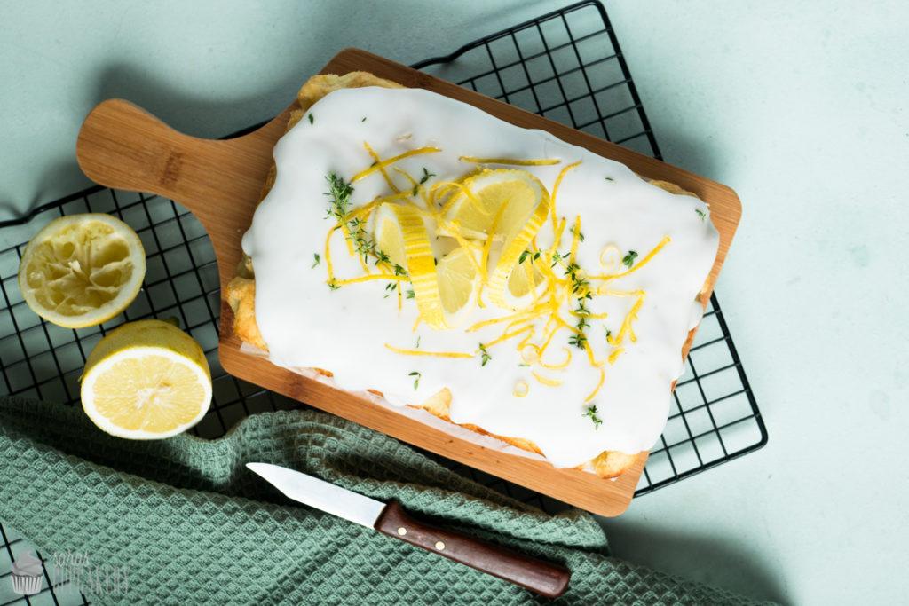 Zitronen Thymian Kuchen