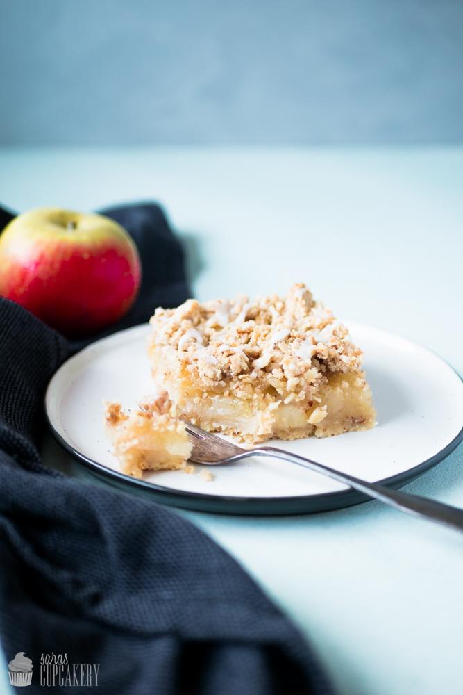 Apfelkuchen mit Mandel-Streuseln