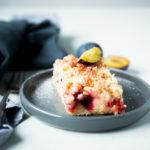 Apfelkuchen mit Marzipanstreuseln
