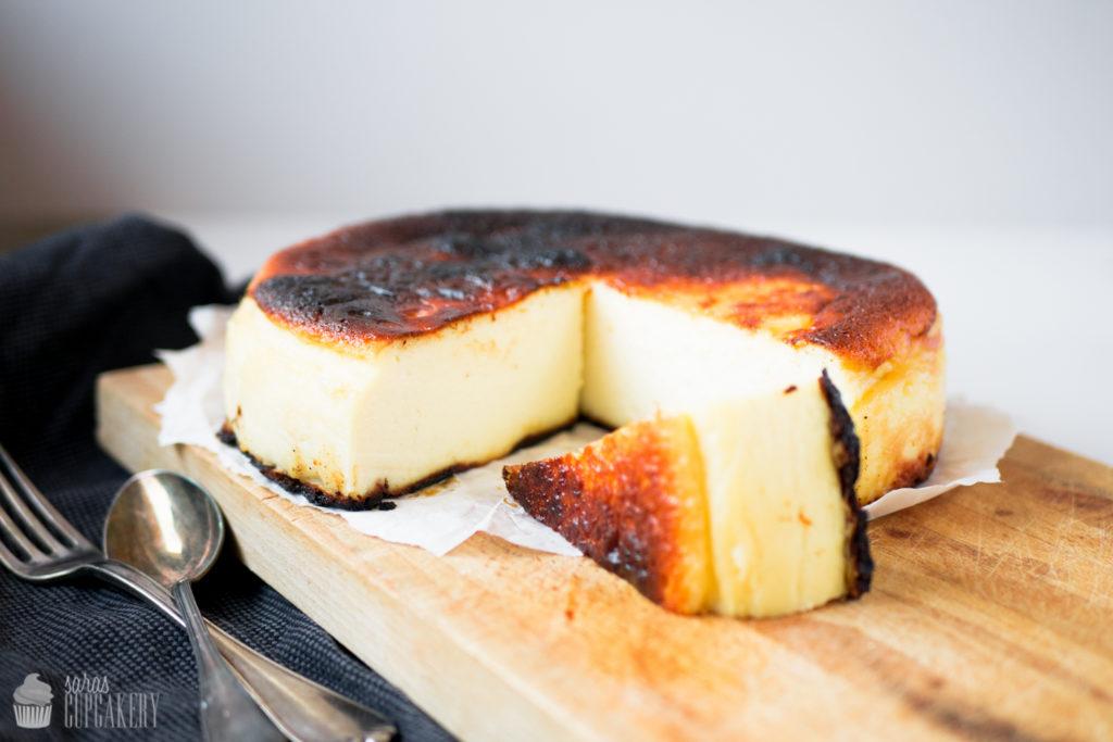 San Sebastián Cheesecake