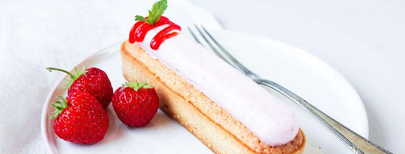 Erdbeer-Mandel Tartes