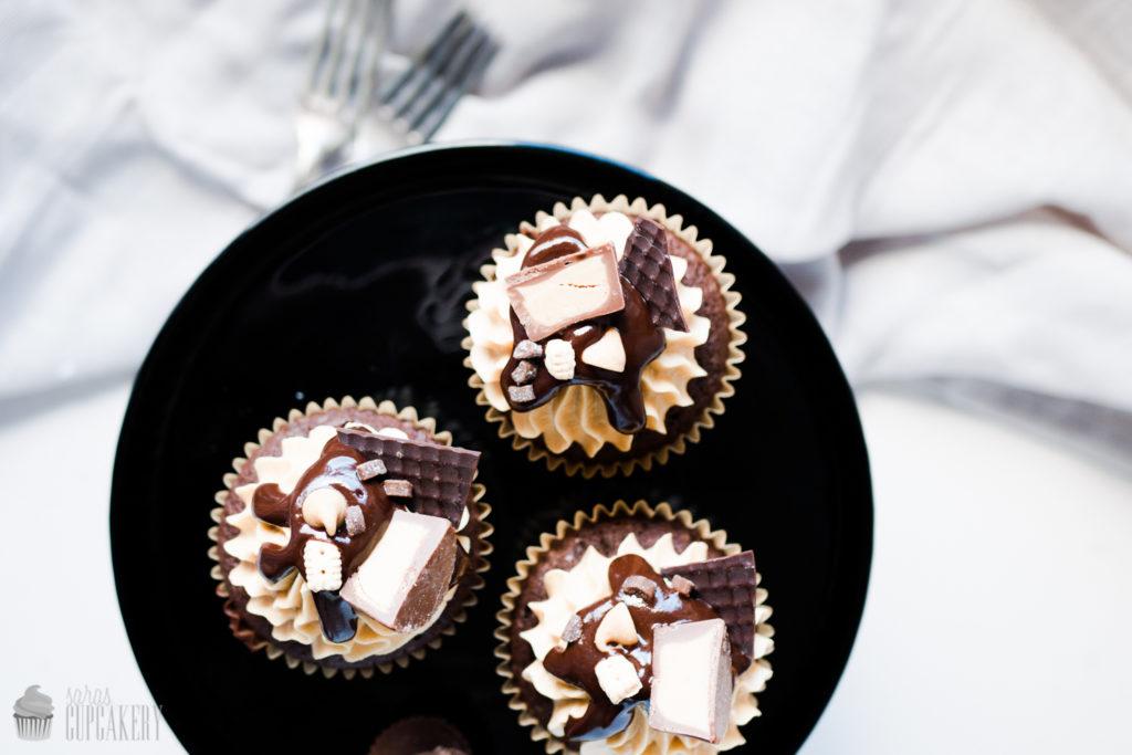 Peanutbutter & Chocolate Cupcakes