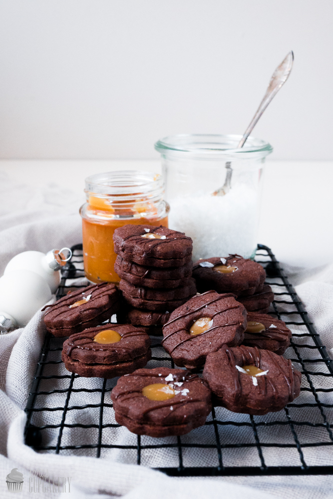 Salted Caramel Spitzbuben