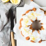Sandkuchen mit Zitrone