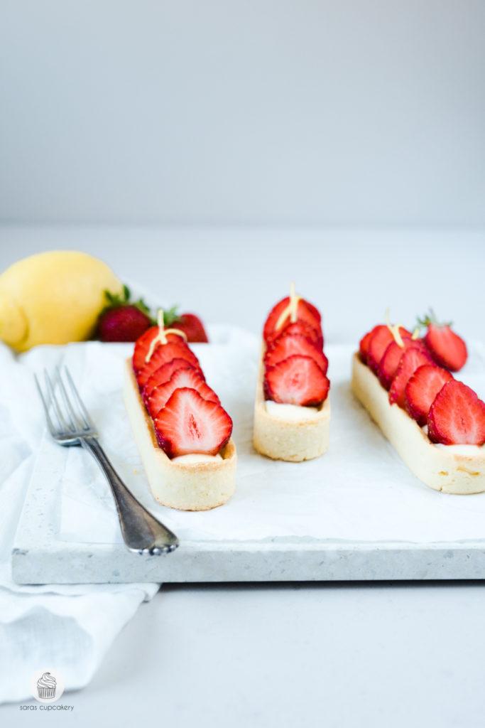 Erdbeer Zitronen Tartelettes
