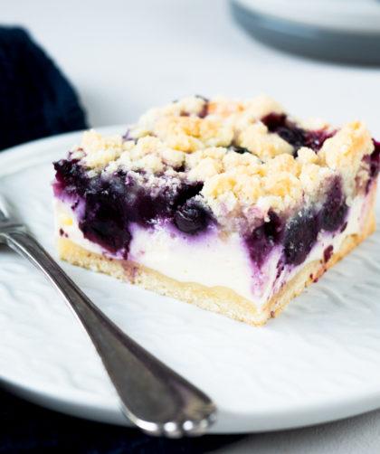 Blaubeer-Quark Kuchen