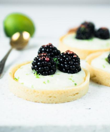 Brombeer-Limetten Tarte
