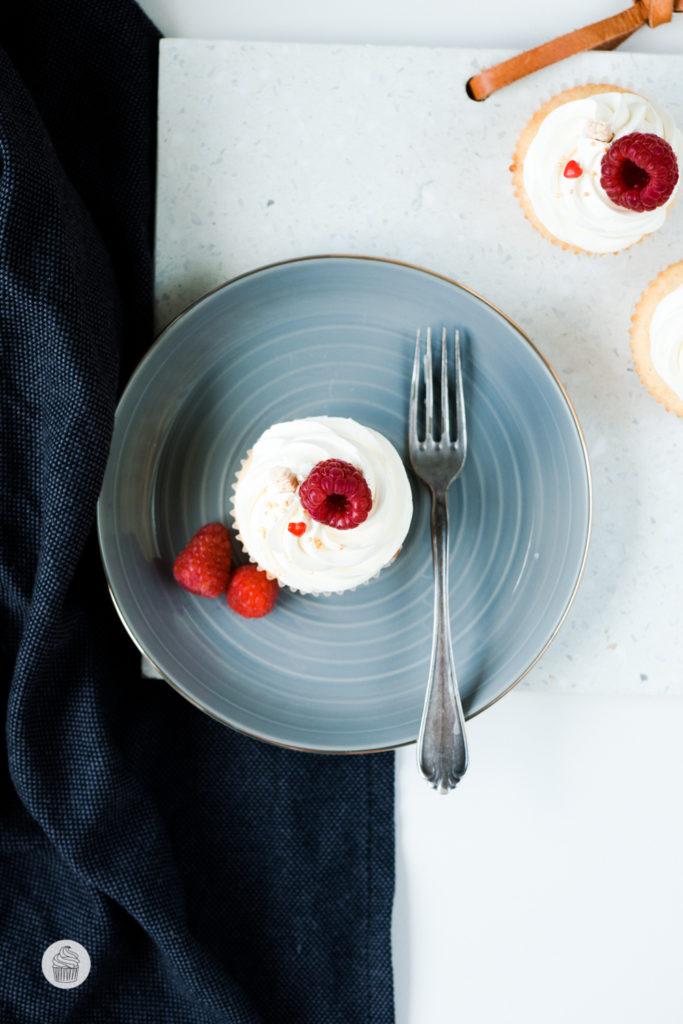 Himbeer & Zitrone Cupcakes