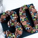 Letter Cake Schokoladen Törtchen